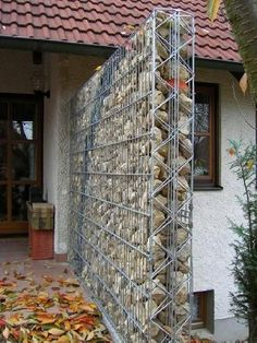 Discover thousands of images about Gabion wall ideas, with FREE how-to guides, videos, pictures and advice to help inspire your gabion wall project Backyard Garden Landscape, Backyard Fences, Backyard Landscaping, Pool Fence, Large Backyard, Garden Path, Landscaping Ideas, Backyard Ideas, Gabion Fence