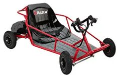 Razor Electric Dune Buggy is most popular go kart among the kids world-wide. My Go Karts stocked a largest collection of this kart. It's top speed is battery charge stays and many technology added. To know more, browse the image. Electric Go Kart, Electric Scooter, Electric Cars, Electric Motor, Electric Vehicle, Cool Go Karts, Go Karts For Kids, Kids Dune Buggy, Razor Dune Buggy
