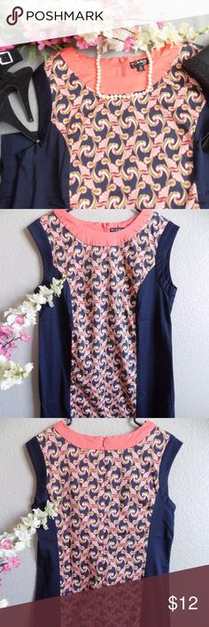 Webster Miami Shift Dress Good Condition dress. Worn twice. No stains or holes. Tag name is falling off. Pit to pit  18, L 33. 97% cotton, 3% Spandex. The Webster at Target Dresses Midi