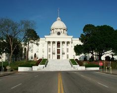 Montgomery Alabama state capital- been there, its really pretty