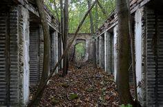 abandoned powder factory near Vienna