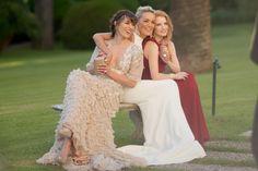 Milla Jovovich, Sharon Stone, and Jessica Chastain