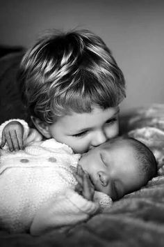 .Even babies love babies...