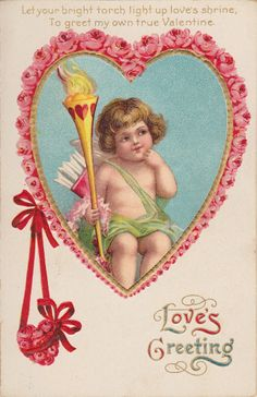 Wings of Whimsy: Cherub Rose Hearts - free for personal use #vintage #valentine…
