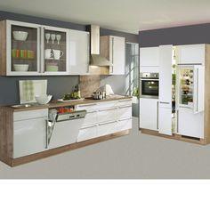 Nobilia Landhaus Küche Flair 424 Magnolia matt online kaufen auf ...