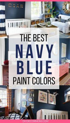 Best Navy Paint Colors: Designers Share 6 Failproof Paint Colors