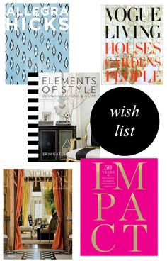 My Favorite Design Books from B@H