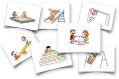 playground flash cards