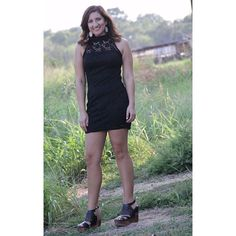 """Every girl needs that one little black dress! These are going fast!  #Black #Dress w/ #Floral #Print $29.99 S-L •Kassidy is 5'8"" and 150 lbs. She's wearing a large.• #BedStu #Petra $152.99 #PinkPanache #Earrings $39.99 We #ship! Call to order! 903.322.4316 #shopdcs #shoplocal #love #littleblackdress #pink"" Photo taken by @daviscountrystore on Instagram, pinned via the InstaPin iOS App! http://www.instapinapp.com (09/21/2015)"