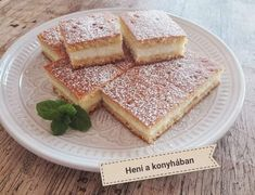 Fall Desserts, Naan, Food And Drink, Bread, Recipes, Hungarian Recipes, Brot, Baking, Breads