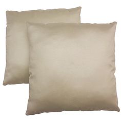 With an eye-catching, contemporary pattern, this Charmant decorative pillow set is a lovely addition to any home's decor. These throw pillows feature a cream color design on the handwoven cover.
