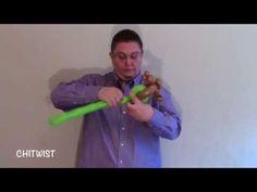 Star Wars Yoda Balloon Animal | ChiTwist Chicago Balloon Twisting - YouTube