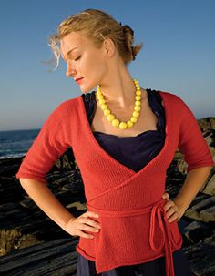 wrap cardigan - I AM going to make this
