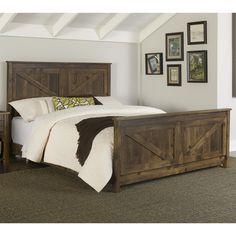 Altra Furniture Farmington Queen Panel Bed
