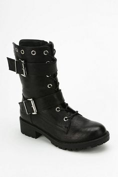 Wanted Paso Double-Buckle Boot