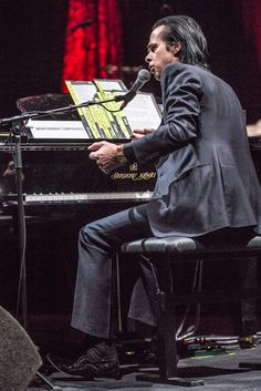 Nick Cave (Nottingham 30th April 2015) Photo courtesy of Shaun Gordon Photography. Setlist: Water's Edge. The Weeping Song. Red Right Hand. Brompton Oratory. Higgs Boson Blues. Tupelo. Mermaids. The Ship Song. Into My Arms. From Her to Eternity. West Country Girl. And No More Shall We Part. I Let Love In. Up Jumped the Devil. Black Hair. The Mercy Seat. We No Who U R. God Is in the House. Breathless. Stranger Than Kindness. Jack the Ripper. The Lyre of Orpheus. Push the Sky Away.