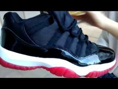 6114d085d Air Jordan XI Bred Low  SneakerStorm