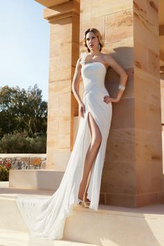 Destination Romance by Demetrios gown