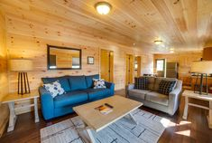 Living that cabin life.  | Cabin interior