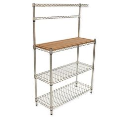 Home In 2019 Bakers Rack Hanging Storage Kitchen Work Station