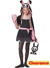 Girls Jack the Rabbit Costume - Skelanimals