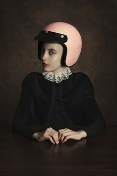 <p>Argentinian painter Romina Ressia took the classic renaissance portrait style and added a little modern twist to it, resulting in some fun visual interrogations!  A classical influence can be identified in most of her projects but it is taken precisely to represent modern issues, how do they affect to society nowadays and how other…</p>