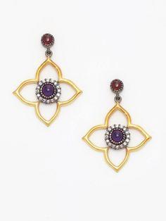 Eddera Alice Stone Drop Earrings