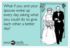One step to having a better marriage.