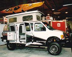 Sportsmobile Custom Camper Vans - Sportsmobile 4x4 Ultimate Adventure Vehicle