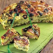 WeightWatchers.be - Weight Watchers Recepten - Hartige quiche met hesp en courgette