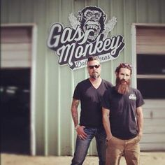 Gas Monkey Garage - Dallas, TX - My new favorite show... hot cars and bearded tattooed men YUMMMM
