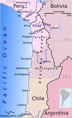 10 Best Atacama desert images   Chile, Chilis, Map