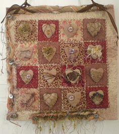 Art Heart Quilt by lisa.jurist, via Flickr
