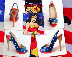 wm Wonderwoman collage | by Crafty Confections