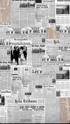 Newspaper Wallpaper, Newspaper Background, Collage Background, Newspaper Collage, Aesthetic Pastel Wallpaper, Aesthetic Backgrounds, Aesthetic Wallpapers, Instagram Frame, Story Instagram