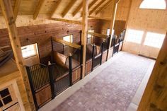 Timber Frame Horse Barns - Post and Beam Barns Dream Stables, Dream Barn, Equestrian Stables, Dream Properties, Horse Stalls, Horse Farms, Better Homes, Design, House