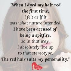 10 Inspiring #Quotes by Redhead Celebrities | #RedheadQuote