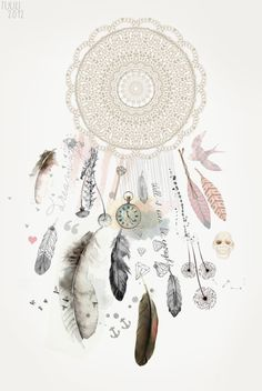 love this! I made  so many dream catchers when I had my store. But never one like this.