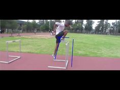 Improving the lead Leg Track Drill, F Video, Pole Vault, Track Workout, Running Inspiration, Hurdles, Track And Field, Drills, Baseball Field