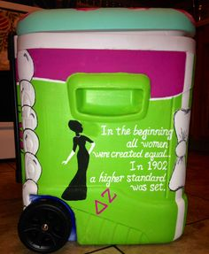 Not a fan of the cooler but i love the quote!