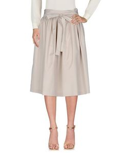 ASPESI Women's 3/4 length skirt Beige 8 US