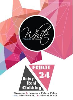 Poster, Poster Design, Event Poster, White, WhiteClub