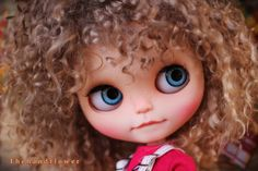 ♥♥♥♥Welcome to my listing:. ♥♥♥♥ OOAK Custom original Takara Blythe doll Simply Guava Face up and Customized Blythe Toys doll girl new licca lovely