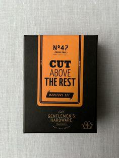 Gentlemen's Manicure Kit