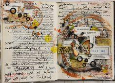 Käsitöitä flamencohame hulmuten: Wanderlust book: Everything that happened today
