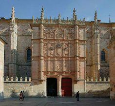 La restauración de la Fachada Rica de la Universidad de Salamanca revela curiosidades históricas   SoyRural.es