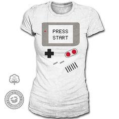 Playera Game Boy