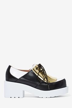 Jeffrey Campbell Galant Leather Oxfords