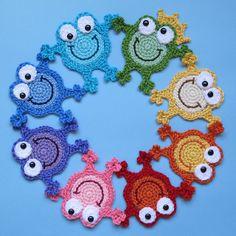 Ravelry: Hoppy Frogs pattern by Marken of The Hat & I