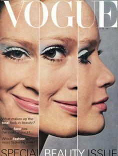 Vogue UK, June 1967. Celia Hammond photographed by David Bailey.